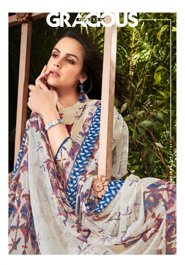 969bd24680 ALOK SUITS WHITE BEAUTY COTTON FABRIC WITH PRINTED SALWAR SIUITS ...
